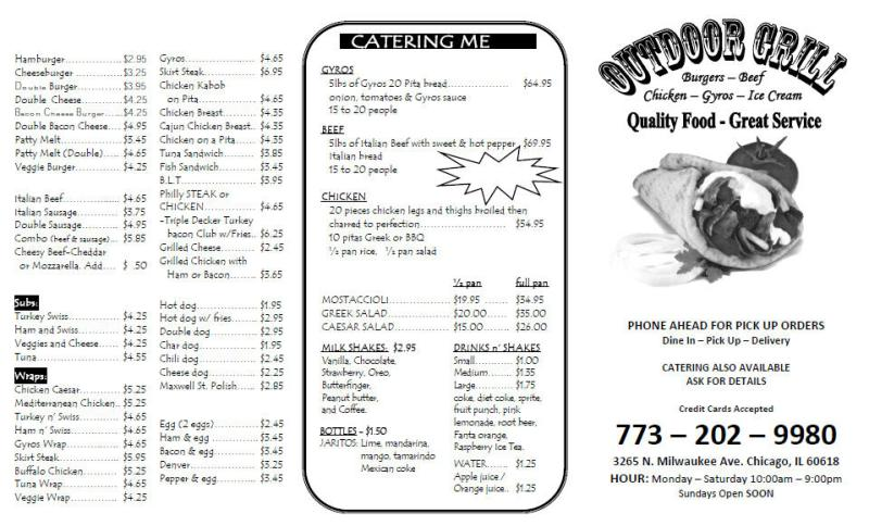 beautiful outdoor grill menu Part - 1: beautiful outdoor grill menu nice design