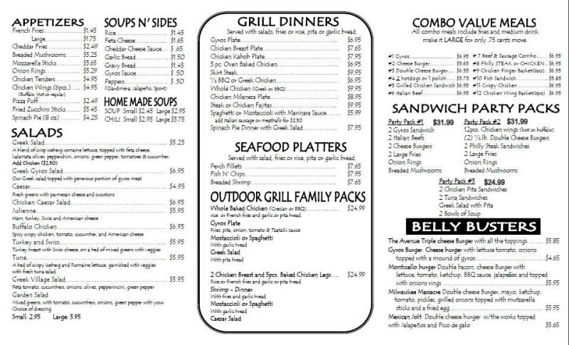 superior outdoor grill menu Part - 4: superior outdoor grill menu photo